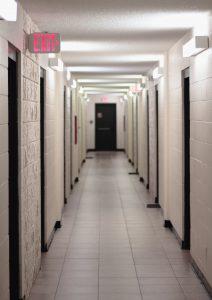 Brugbare steder til indvendige døre